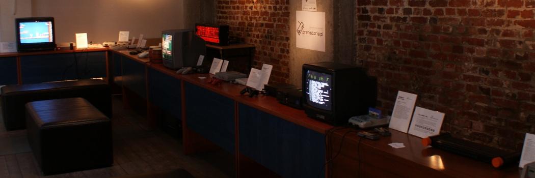 Wystawa Podróż w świat konsol i gier wideo