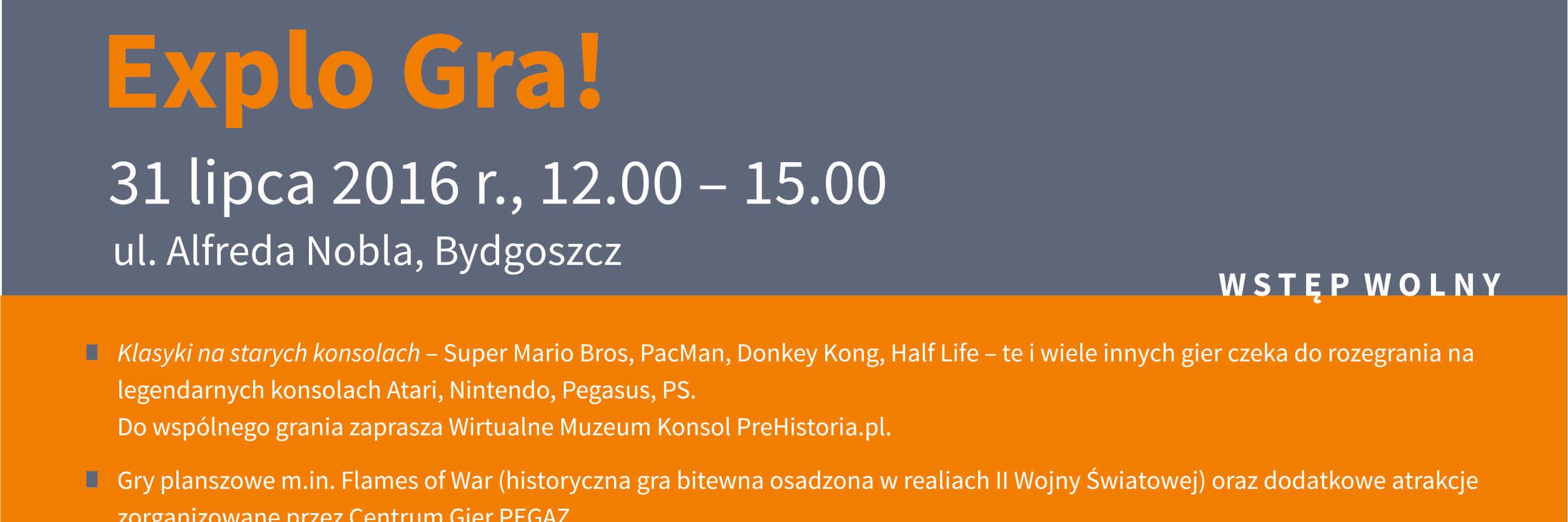 Explo Niedziela w Muzeum Okręgowym w Bydgoszczy